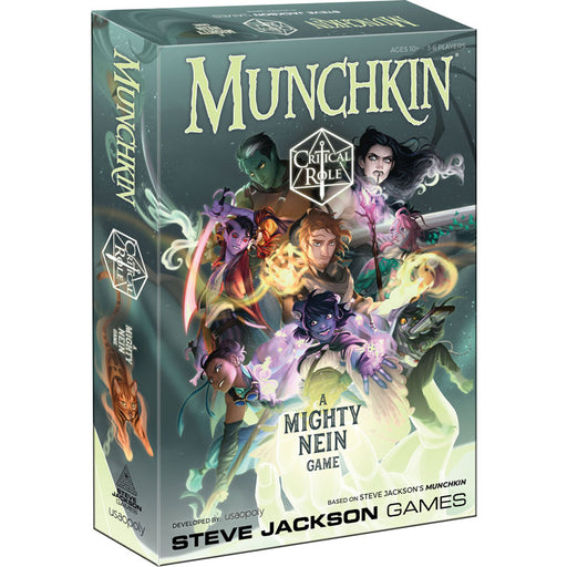 Munchkin: Critical Role Board Game (Pre-Order)
