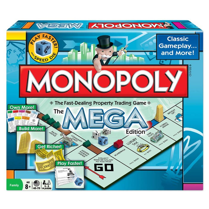 Monopoly Mega Edition Board Game