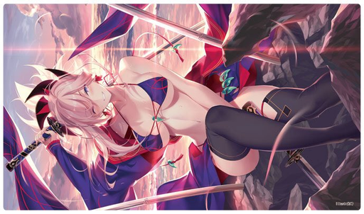 C97 Fate Grand Order FGO - Mushashi Summer Swimsuit Ver. Circle Cluster - Doujin Mature Character Rubber Playmat