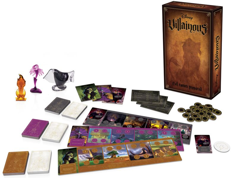 Disney Villainous Evil Comes Prepared Board Game