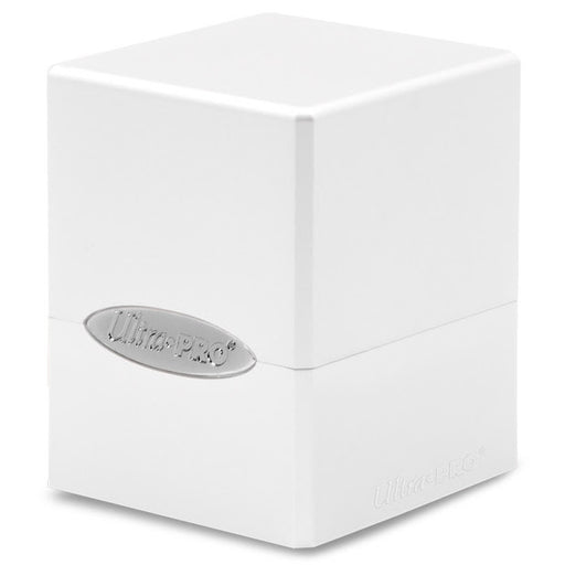 Ultra Pro: Satin Cube: Arctic White Deck Box (Pre-order)