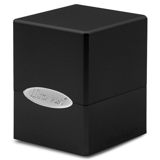 Ultra Pro: Satin Cube: Jet Black Deck Box (Pre-order)