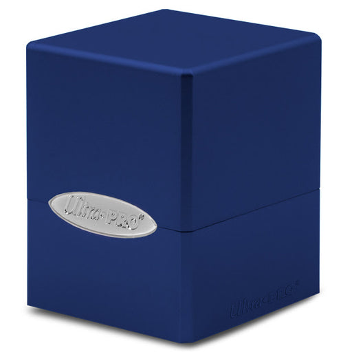 Ultra Pro: Satin Cube: Pacific Blue Deck Box (Pre-order)