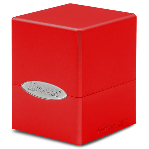 Ultra Pro: Satin Cube: Apple Red Deck Box (Pre-order)