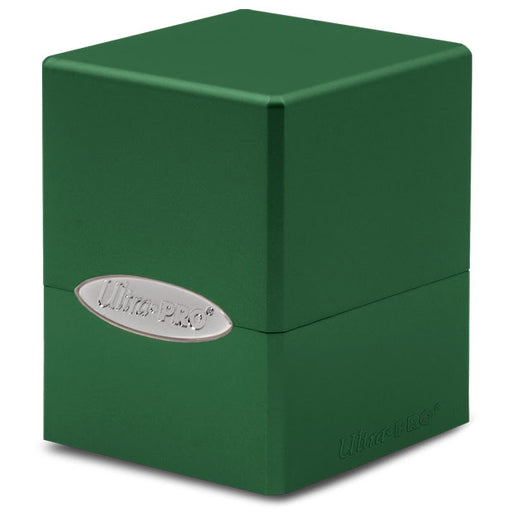 Ultra Pro: Satin Cube: Forest Green Deck Box (Pre-order)