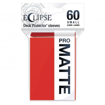 Eclipse Apple Red Ultra Pro Mini Matte Basic Sleeves  60CT (Pre-order)