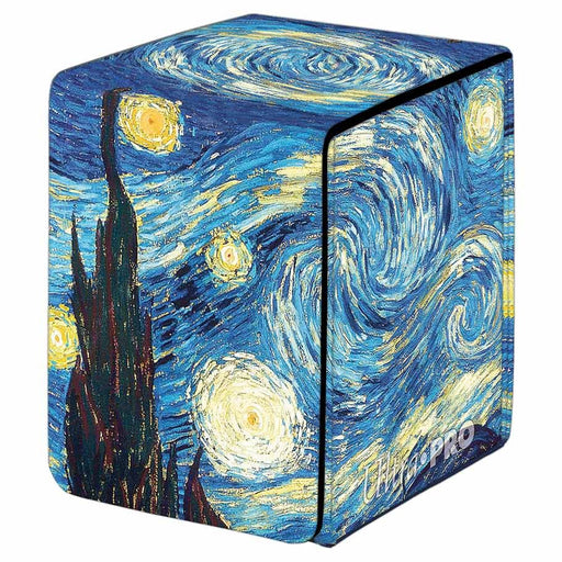 Ultra Pro: Alcove Flip: Fine Art: Starry Night Deck Box (Pre-order)