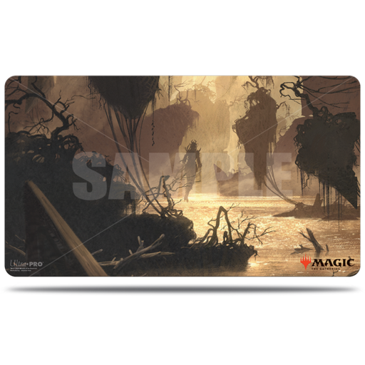 Magic The Gathering: Zendikar Rising - Murkwater Pathway - Ultra Pro Rubber Playmat V.1