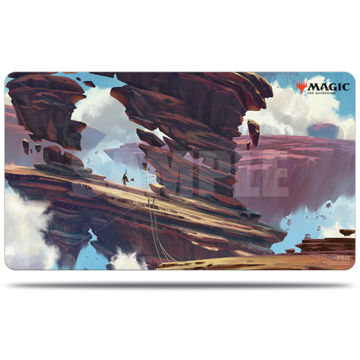 Magic The Gathering: Zendikar Rising - Boulderloft Pathway - Ultra Pro Rubber Playmat V.7