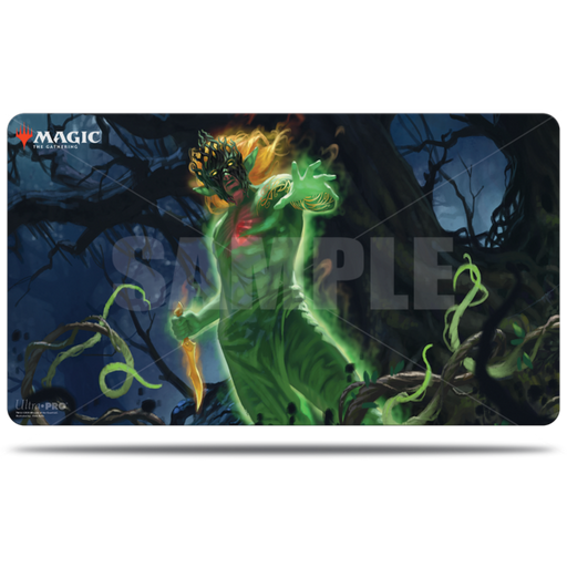 Magic The Gathering: Zendikar Rising - Obuun, Mul Daya Ancestor - Ultra Pro Rubber Commander Playmat V.1