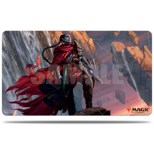 Magic The Gathering: Zendikar Rising - Anowon, the Ruin Thief - Ultra Pro Rubber Commander Playmat V.2
