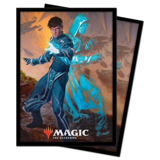 Magic The Gathering: Zendikar Rising - Jace, Mirror Mage - Ultra Pro Sleeves V.1 (100CT)
