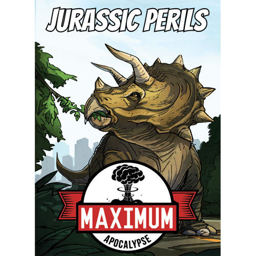 Maximum Apocalypse: Jurassic Perils Board Game