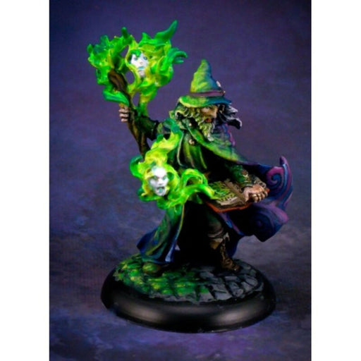 Reaper Miniatures - Dark Heaven Legends: Domur, High Mage Wizard - 25th Silver Anniversary