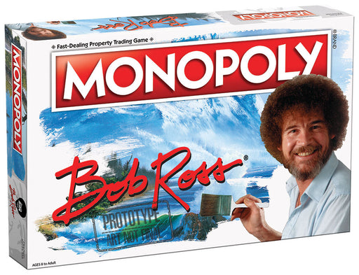 Bob Ross Monopoly Board Game