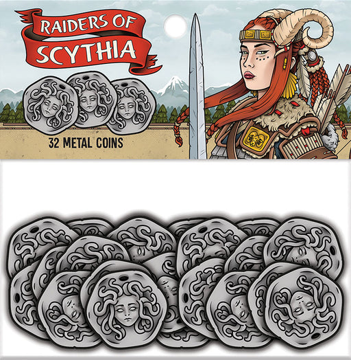 Raiders of Scythia: Metal Coins (32) (Pre-order)