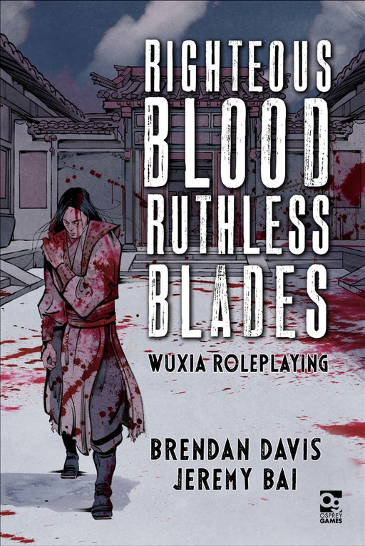 Righteous Blood Ruthless Blades RPG Book (Pre-Order)