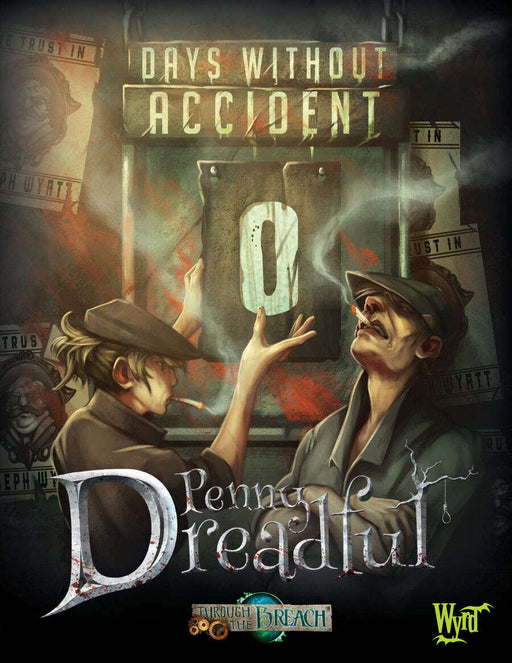 Through the Breach: Penny Dreadful - Days without Accident RPG Book (Pre-Order)