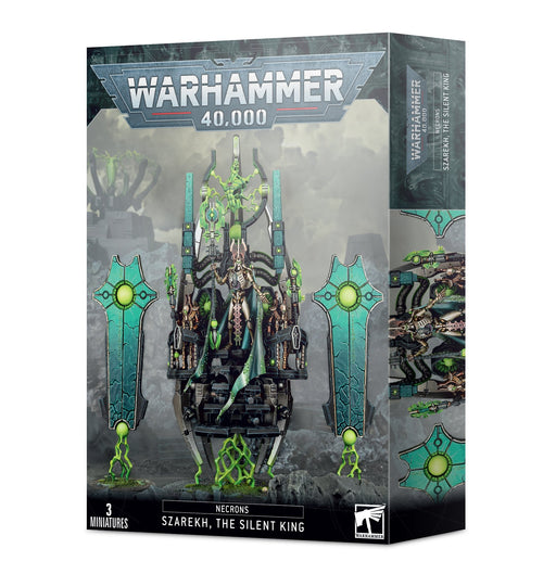 Warhammer 40K: Necrons Szarekh The Silent King Miniature Game