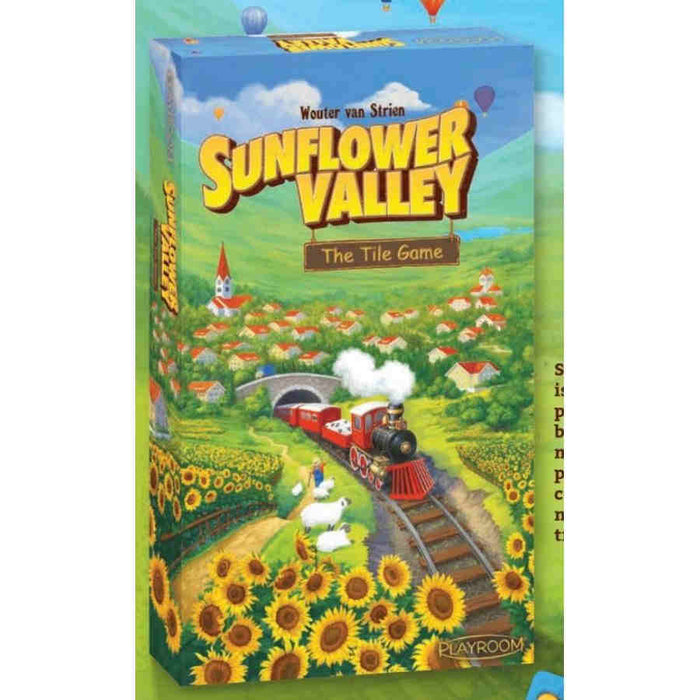 Sunflower Valley Tile-Laying Board Game