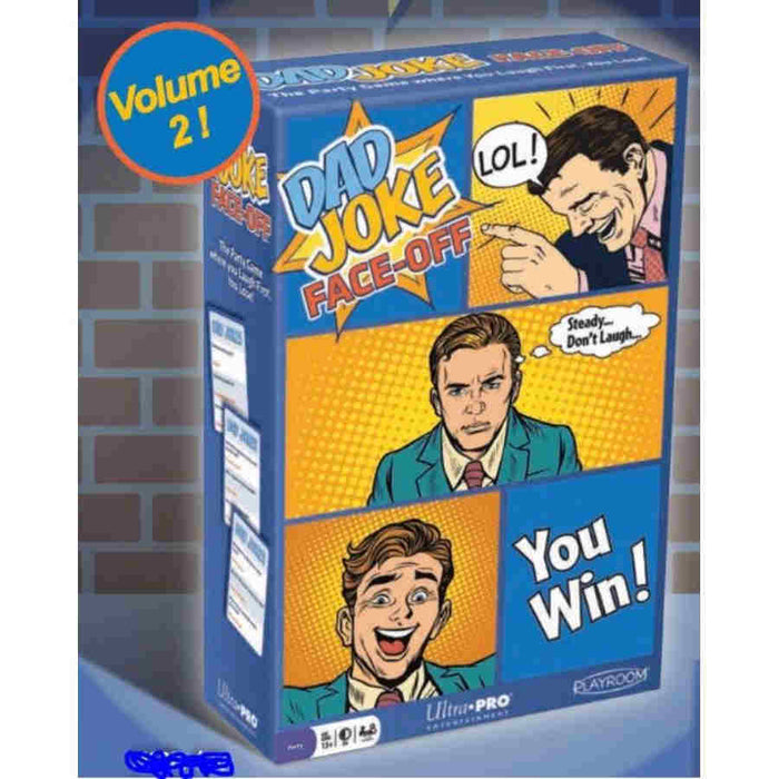 Dad Joke Face-Off Board Game