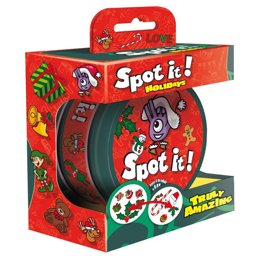 Spot It: Holiday Board Game (Pre-order) Dec 2020