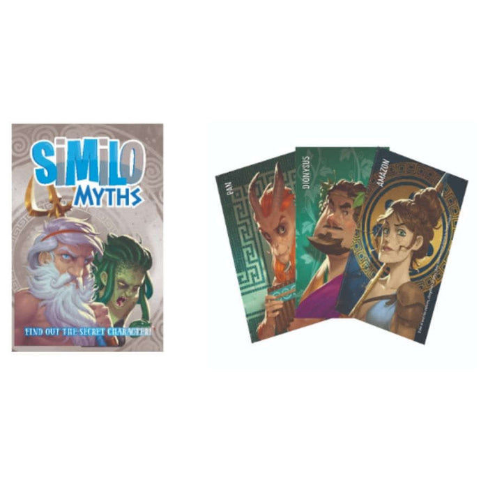 Similo: Myths Time Board Game