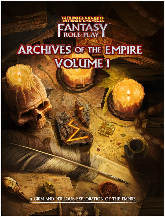 Warhammer Fantasy RPG: Archives of the Empire - Vol. 1 Role Playing Game (Pre-order)