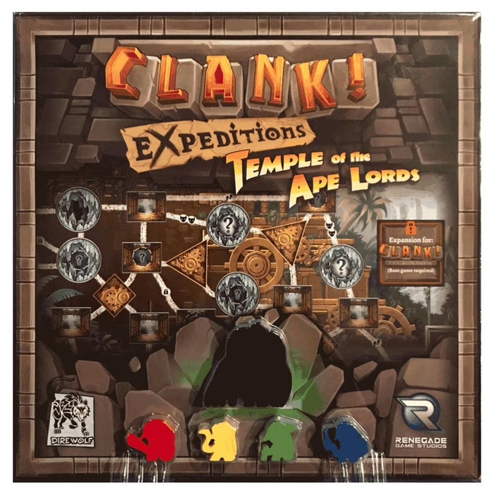 CLANK! Expeditions: Temple of the Ape Lords Board Game