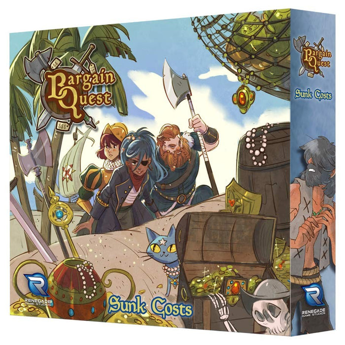 Bargain Quest: Sunken Costs Expansion Board Game