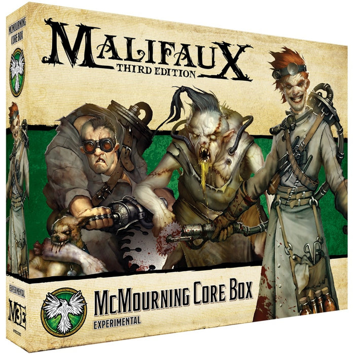 Malifaux 3rd Edition: Resurrectionist: McMourning Core Box Miniature Game