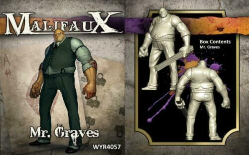 Malifaux 3rd Edition Neverborn 32mm Mr. Graves Miniature