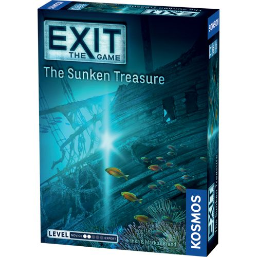 Exit: The Sunken Treasure Board Game (Pre-order)
