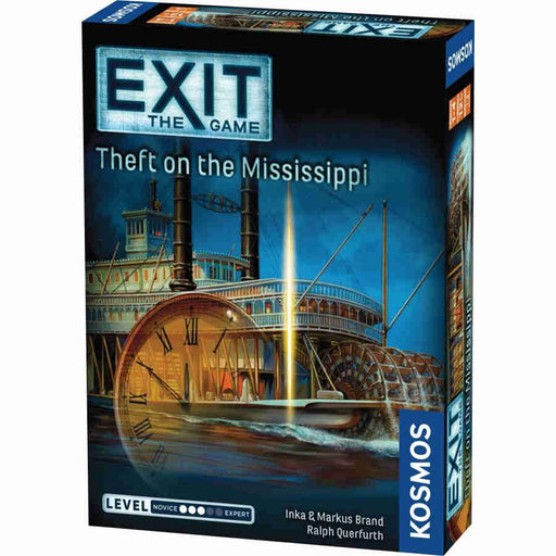 Exit: Theft on the Mississippi Board Game (Pre-order)