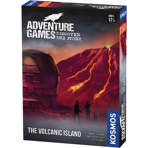 Adventure Games: The Volcanic Island Board Game (Pre-order)