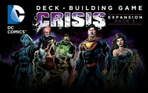 DC Comics - Deck-Building Game Crisis 3 Expansion Board Game
