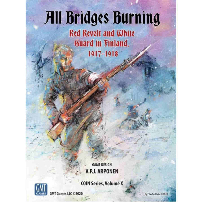 All Bridges Burning Board Red Revolt & White Guard in Finland, 1917-1918 Board Game