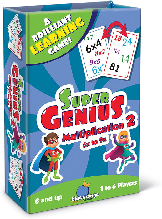 Super Genius Multiplication 2: A Brilliant Learning Game