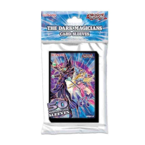 Yu-Gi-Oh! The Dark Magician TCG Mini-sized Card Sleeves 50 ct