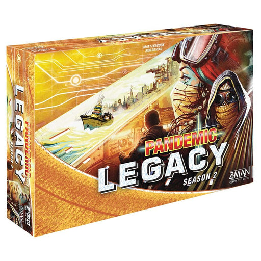 Pandemic: Legacy Season 2 (Yellow Edition) Board Game