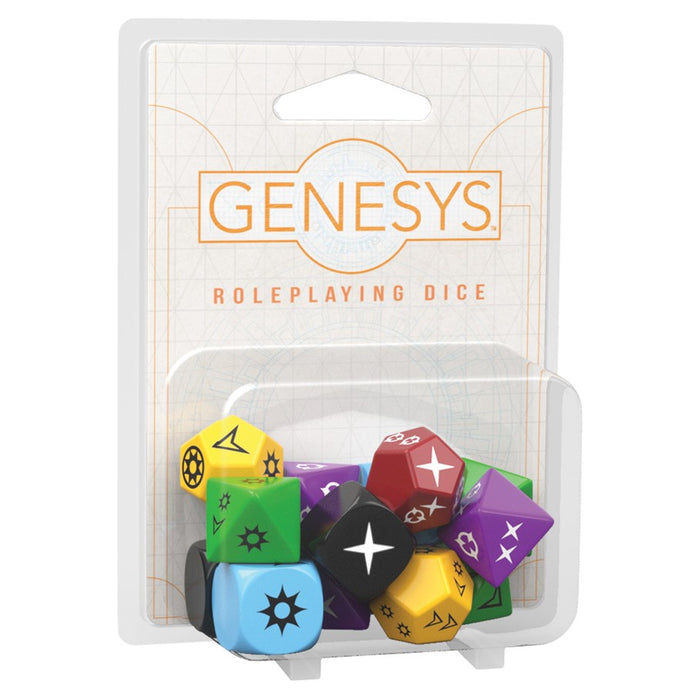 Genesys: Roleplaying Dice Set