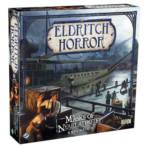 Eldritch Horror: Masks of Nyarlathotep Expansion Board Game