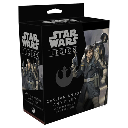 Star Wars SW Legion: Cassian Andor and K-2SO Miniature Commander Expansion