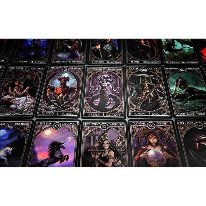 Anne Stokes Gothic Gothic Tarot Cards by Bicycle Playing Cards