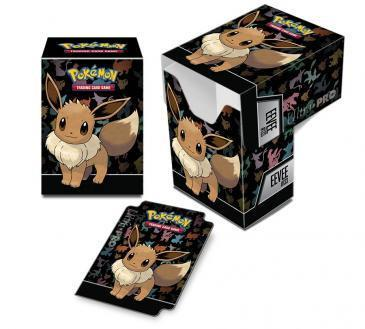 Pokemon Eevee Character Full-View Deck Box Case