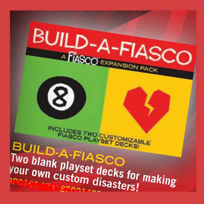 Fiasco: Build a Fiasco Expansion Pack Board Game (Pre-order)