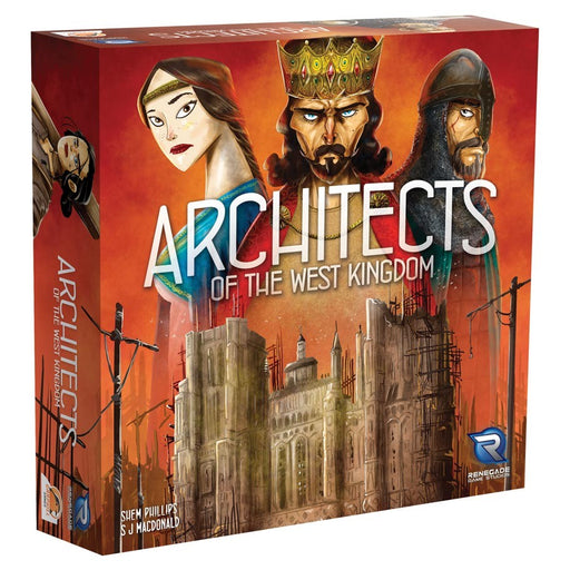 Architects of the West Kingdoms Board Game