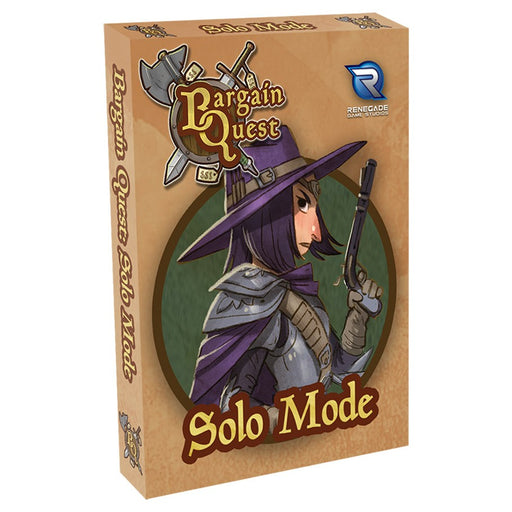 Bargain Quest: Solo Mode Expansion Board Game