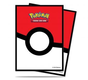 Pokemon Poke Ball Character Sleeves 65CT