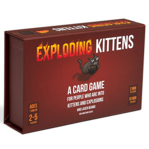 Exploding Kittens: First Edition Board Game